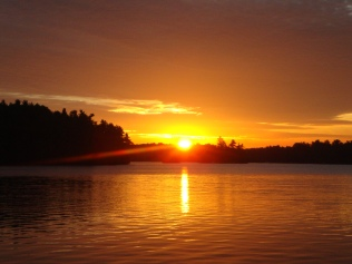 Sunset in Ontario Canada