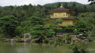 Kinkaku-ji Temple (the golden pavilion), Kyoto, Japan