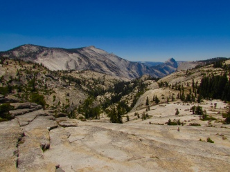 Olmsted Point in Yosemite National park
