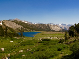 Gaylor Lakes in Yosemite National Park